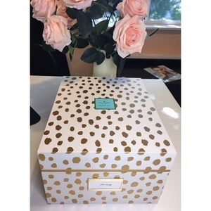 RARE NWT Kate Spade 'flamingo dot' nesting box